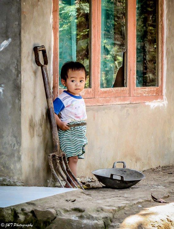 Indonesia child portrait