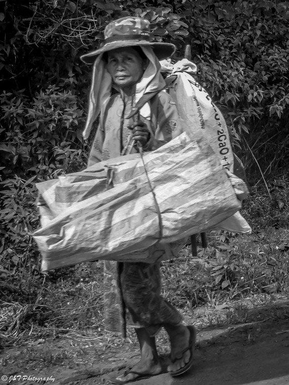 laos woman portrait