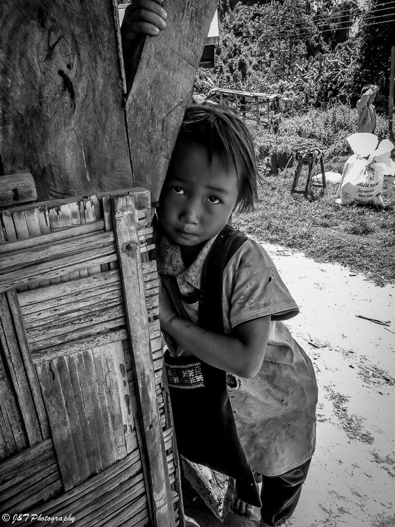 laos Child portrait