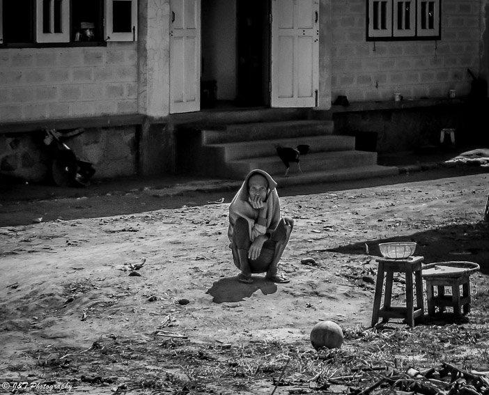 Myanmar woman portrait