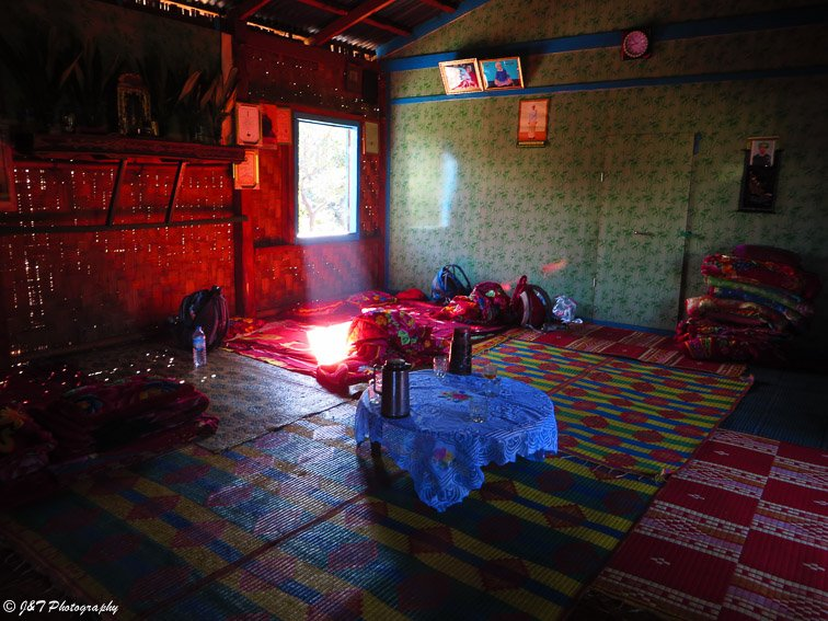 Myanmar Inle lake kalaw hike Inside village house