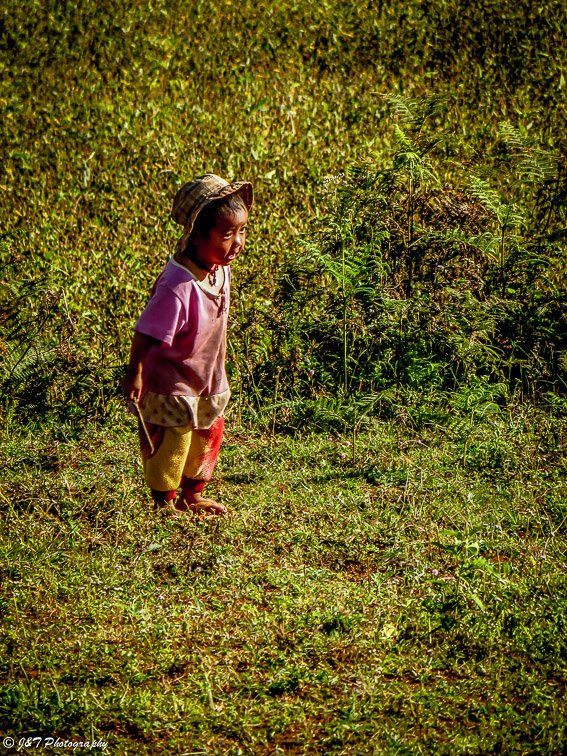 Myanmar child portrait