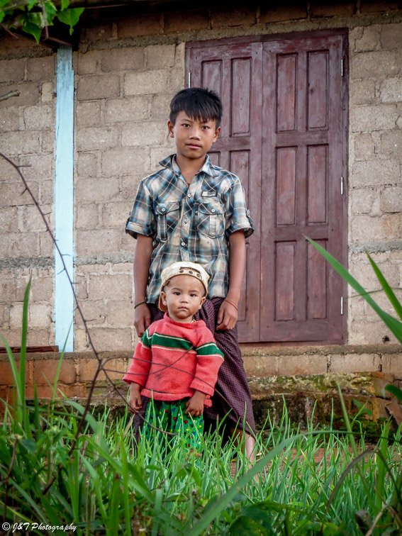 Myanmar children portrait