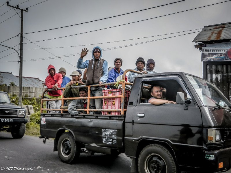 Indonesia Truck Riders