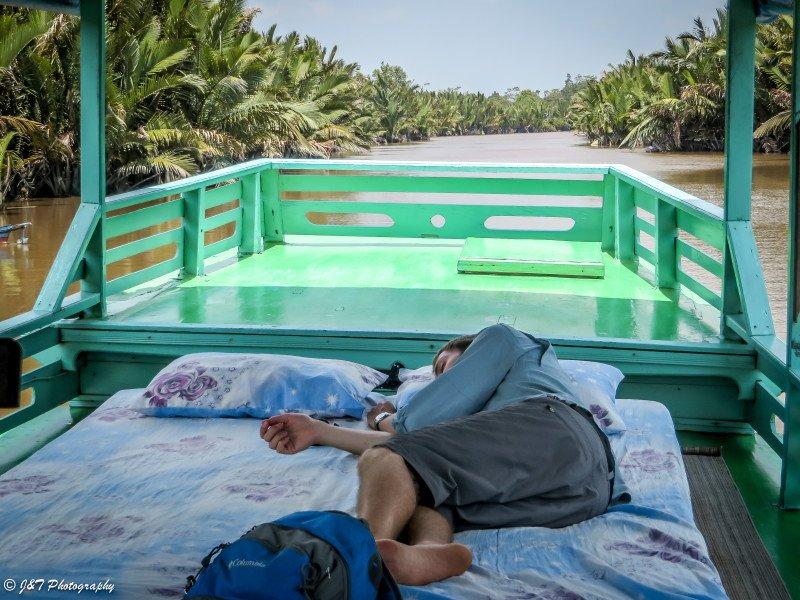 Indonesia, Tanjung Punting National Park Klotak Boat