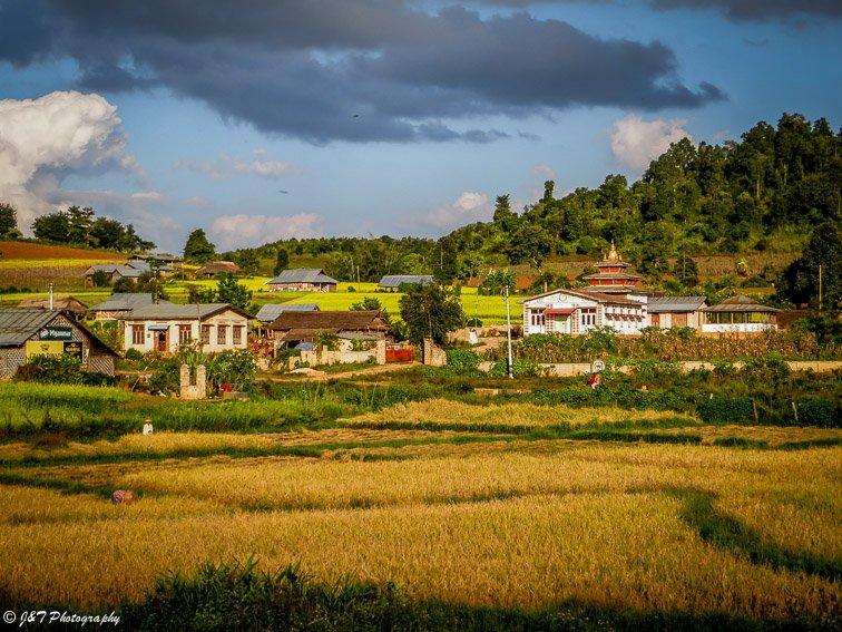 Myanmar village inle lake to kalaw hike