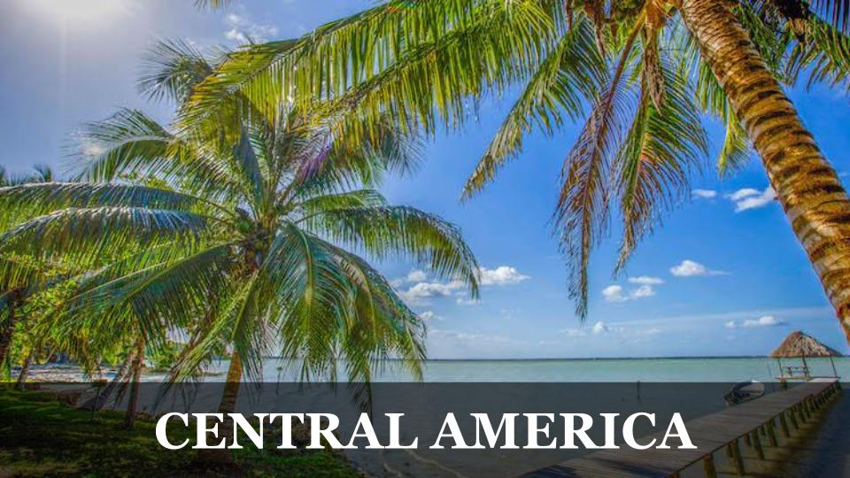 Travel Around the World RTW to Central America