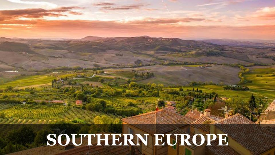 Travel Around the World RTW to Southern Europe