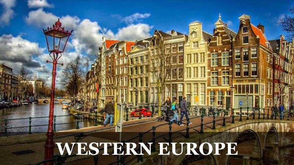 Travel Around the World RTW to Western Europe