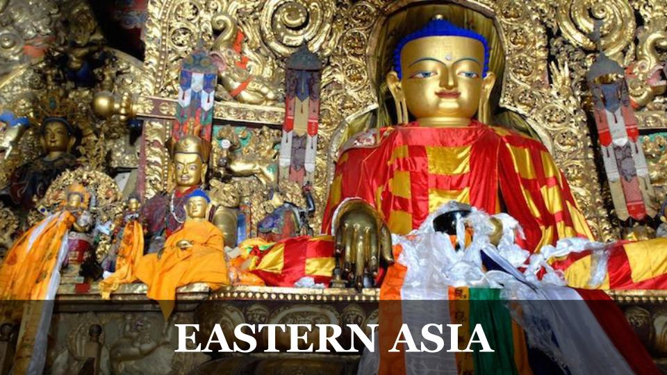 Travel Around the World RTW to Eastern Asia