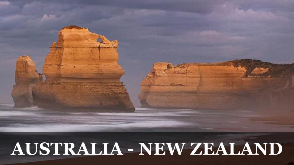 Travel Around the World RTW to Australia & New Zealand