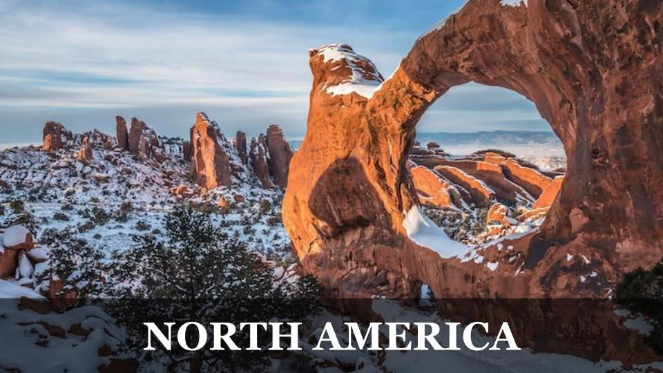 Travel Around the World RTW to North America