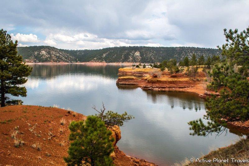 Glendo State Park Wyoming Lake Red Rock Water