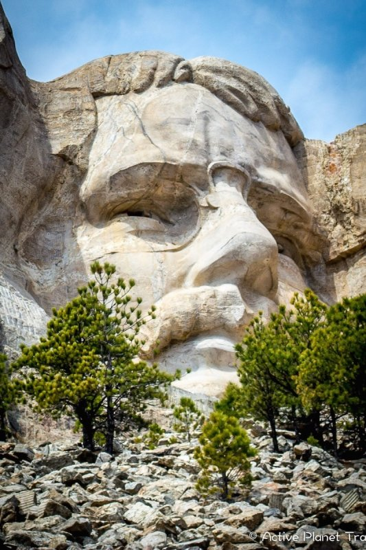 Mount Rushmore South Dakota Black Hills National Park Theodore Roosevelt