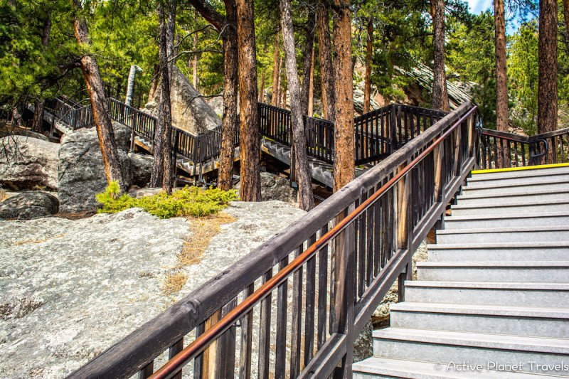 Mount Rushmore South Dakota Black Hills National Park Stairs Hiking Trail Path