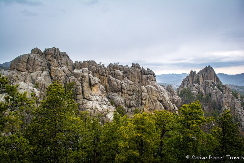 Black Hills National Forest Hiking Mountains South Dakota