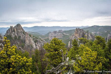 Black Hills National Forest Hiking Mountains South Dakota