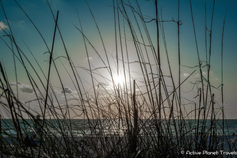Clearwater Beach Florida Ocean Sea Sunset
