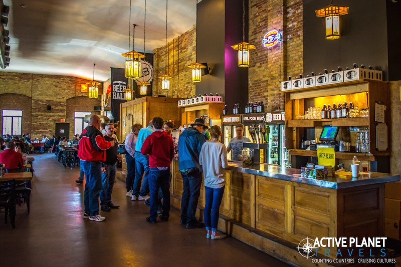 Lakefront Brewery Tour Milwaukee Wisconsin Beer Bar