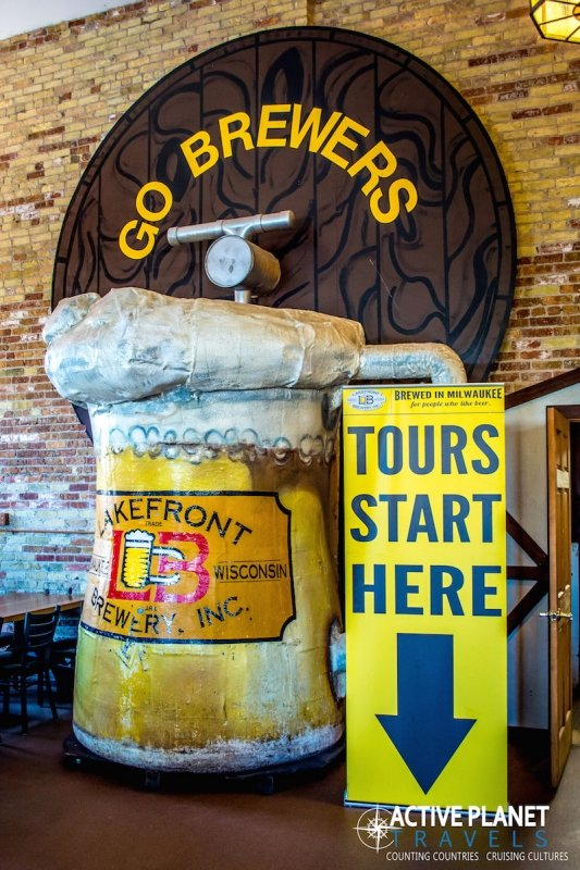 Lakefront Brewery Tour Milwaukee Wisconsin Beer