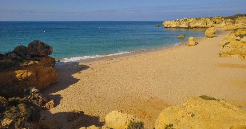 Algarve Portugal Outdoors Beach Mediterranean