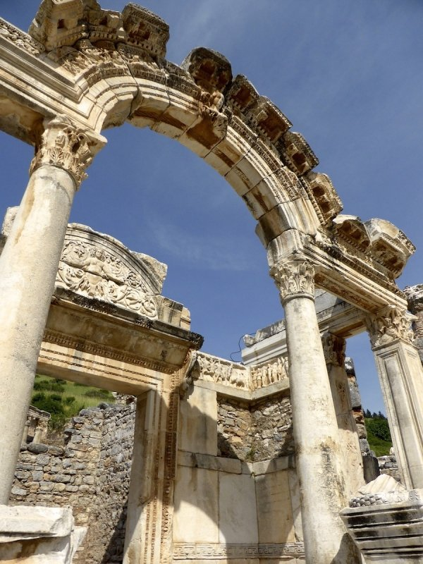 Bodray Turkey Ruins Ancient Greek