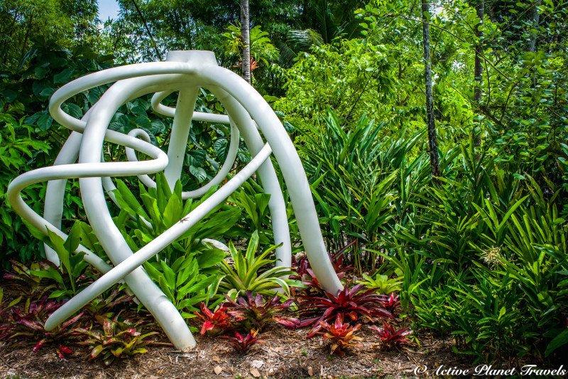 Naples Paradise Coast Florida Botanical Garden Flowers Art
