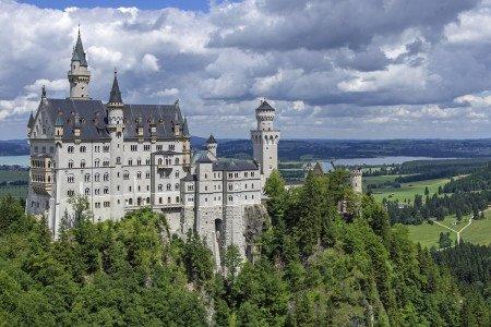 Neuschwanstein Castle, Germany, Munich, Outdoor, Adventure, Europe, Germany