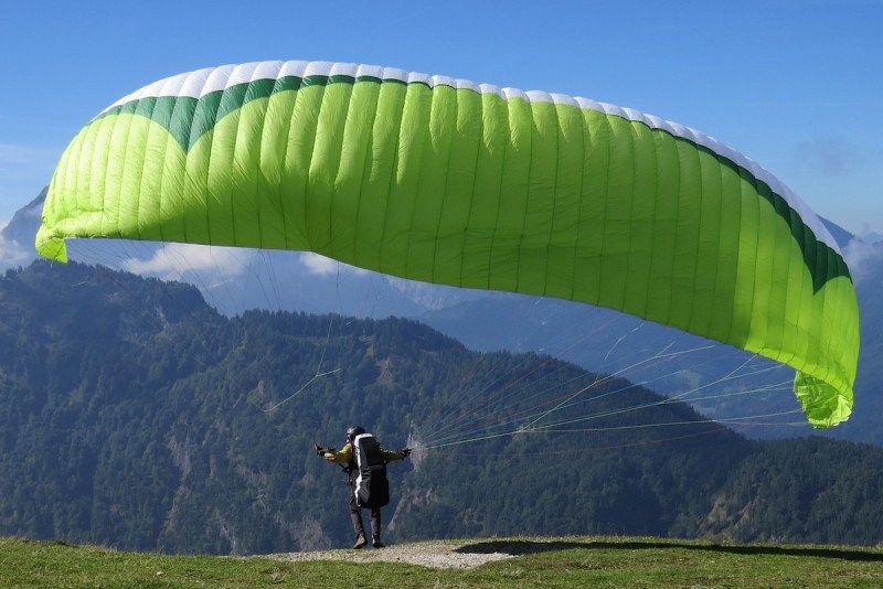 Munich, Outdoor, Adventure, Europe, Paragliding, Sky, Fly, Tandem, Mountain