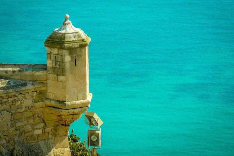 Alicante Castle Spain Ocean