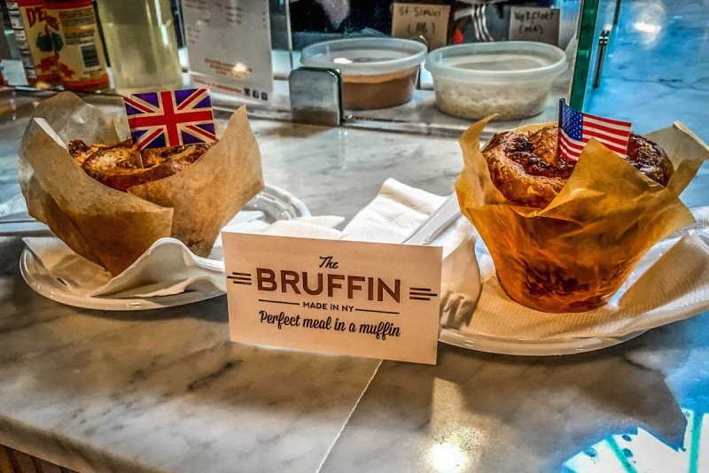 A Brit and a Southerner, The Bruffin, NYC, New York City, Muffin
