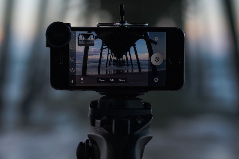 Monopod, Selfie Stick, Photography, Photo, Beach, Pier, Sunset