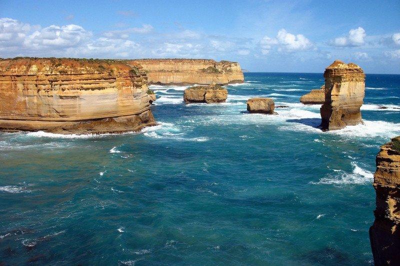 Great Ocean Road Melbourne Australia Beach Cliff Sea