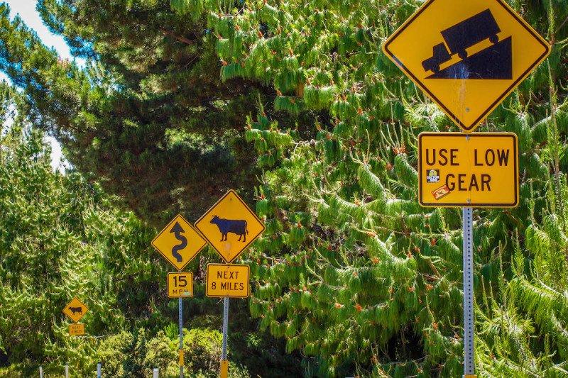 Maui Hawaii Road to Hana Sign