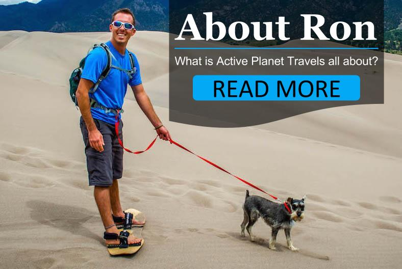 About Active Planet Travels - Adventure travel blogger Ron Robbins