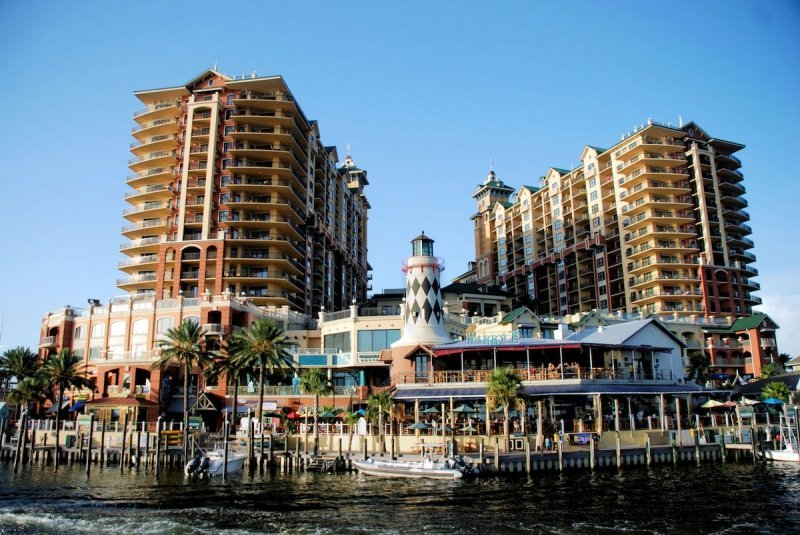The HarborWalk Village in Emerald Grande Destin