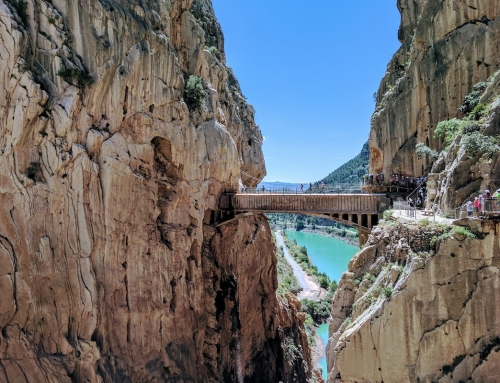 Hiking in el Caminito del Rey Path
